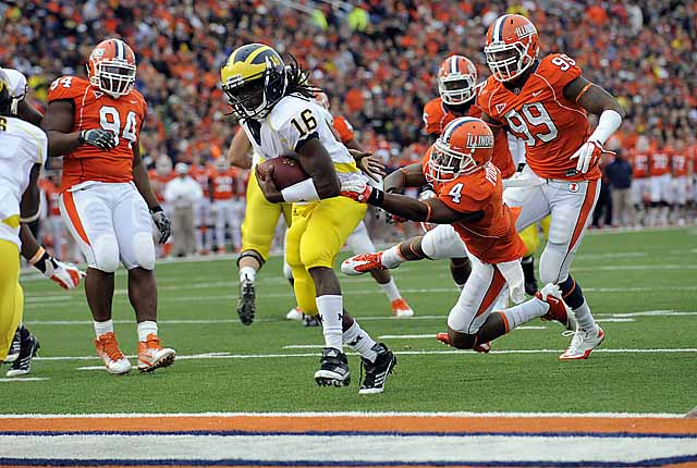 Michigan 31, Illinois 14