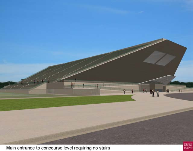 Concepts for new Wings hockey stadium