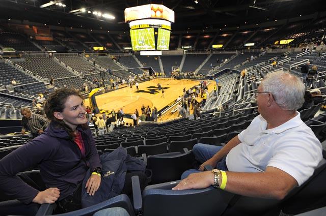 Michigan's Crisler Arena upgrades a hit