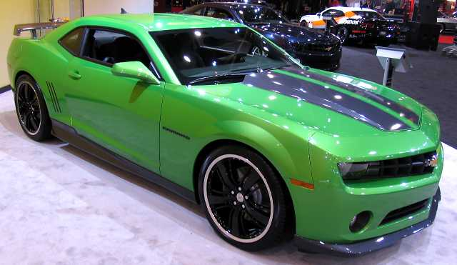 synergy green camaro. a new Synergy Green color