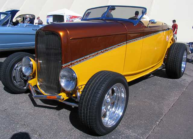 1932 Ford Hot Rod. 1932 Ford hot rod -- April 19,