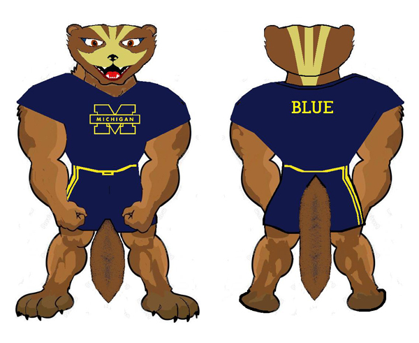 Wolverine animal wolverine is my favorite animal wolverines - Detroit News Mascot Contest Winners And Other Entries