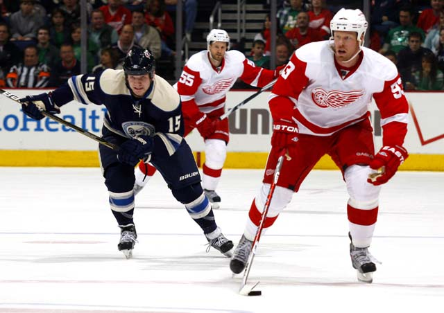 Red Wings 2, Blue Jackets 0