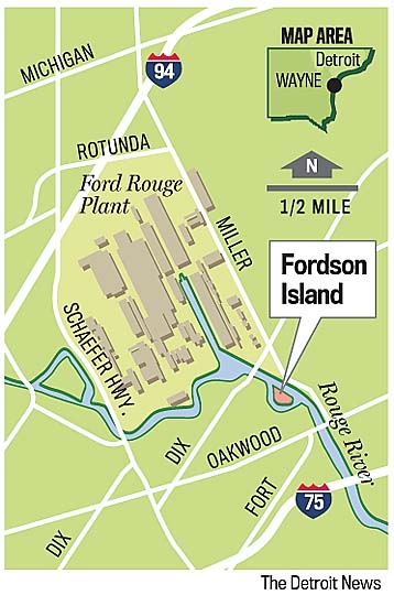 Fordson Island gets cleanup
