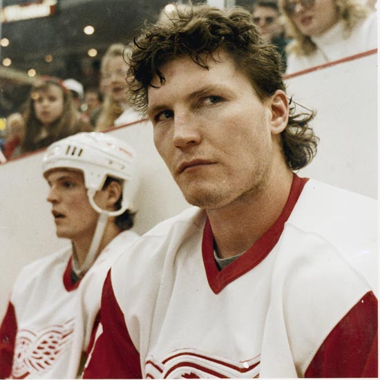 Wings great Bob Probert dead at  45