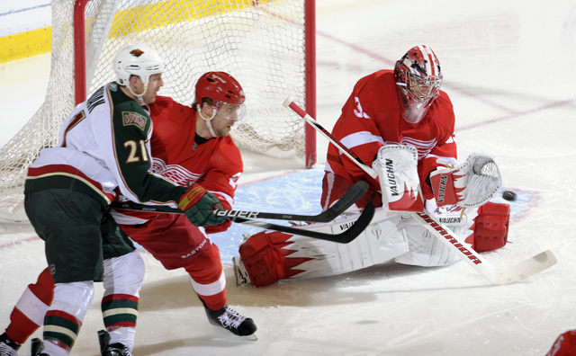 Wings beat Wild, 4-2