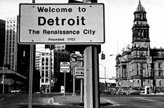 Downtown Detroit S Deco Glory History Photo Gallery