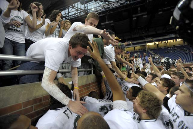 Division 1 Final: Lake Orion 21, Plymouth 13