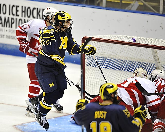 Michigan falls to Miami of Ohio 3-2 in OT