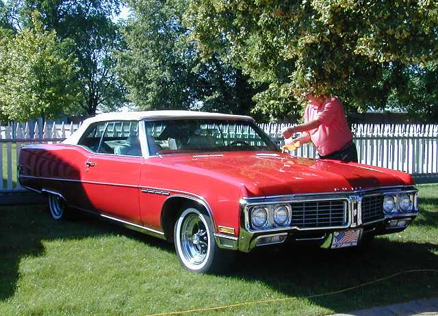 1970 Buick Electra convertible