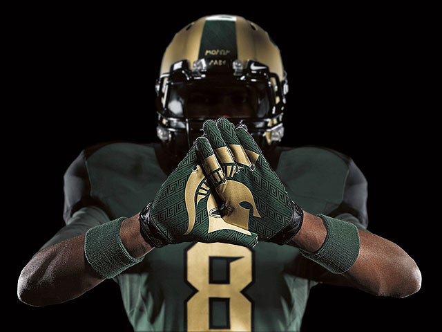MSU�s Nike Pro Combat Uniforms Unveiled