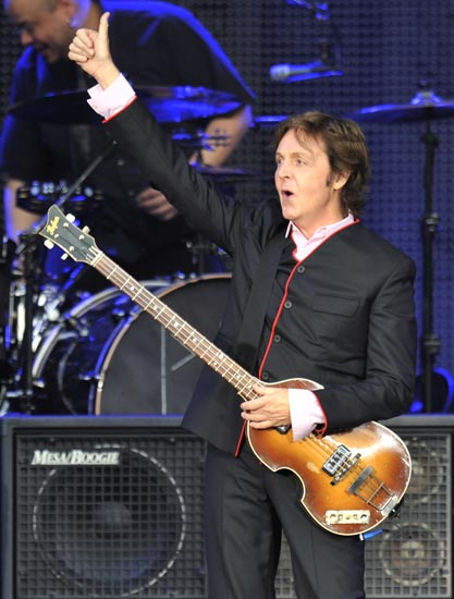 Paul McCartney plays Comerica