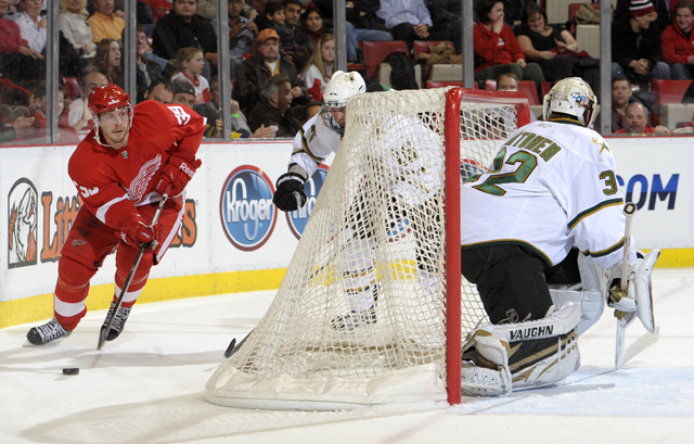 Stars 4, Red Wings 1