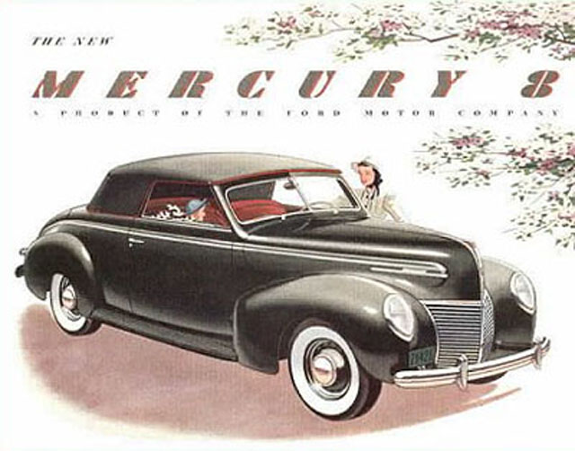 Ford Mercury ads through the years