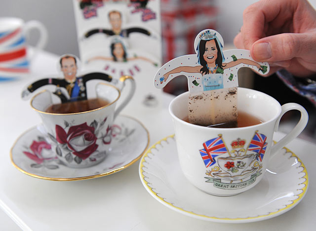 prince william tea bags. Prince William tea bag.