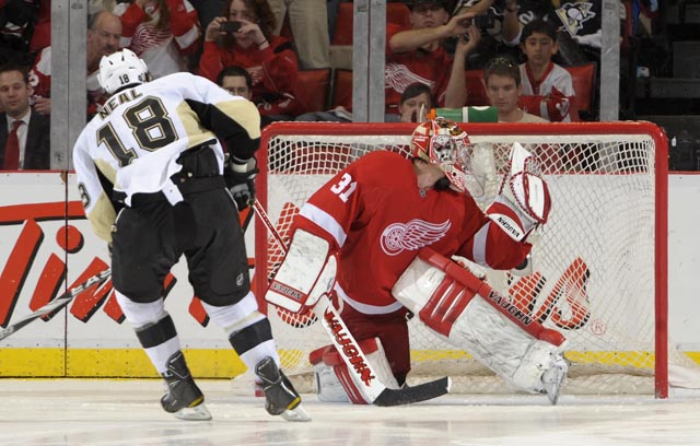 Penguins 5, Red Wings 4 in shootout