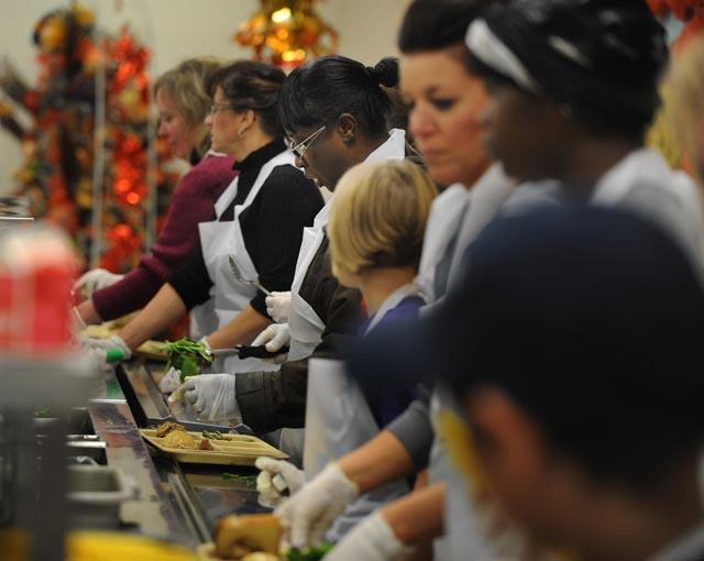 Thanksgiving At Capuchin Soup Kitchen Design