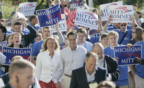 ann romney young. mitt and Ann Romney as